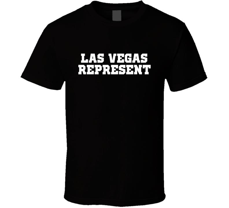 Las Vegas Represent Nike Nate Diaz MMA Fighters Fighting T Shirt