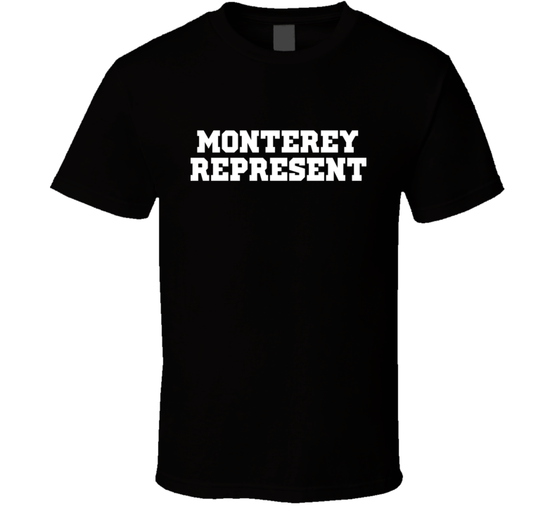 Monterey Represent Nike Nate Diaz MMA Fighters Fighting T Shirt
