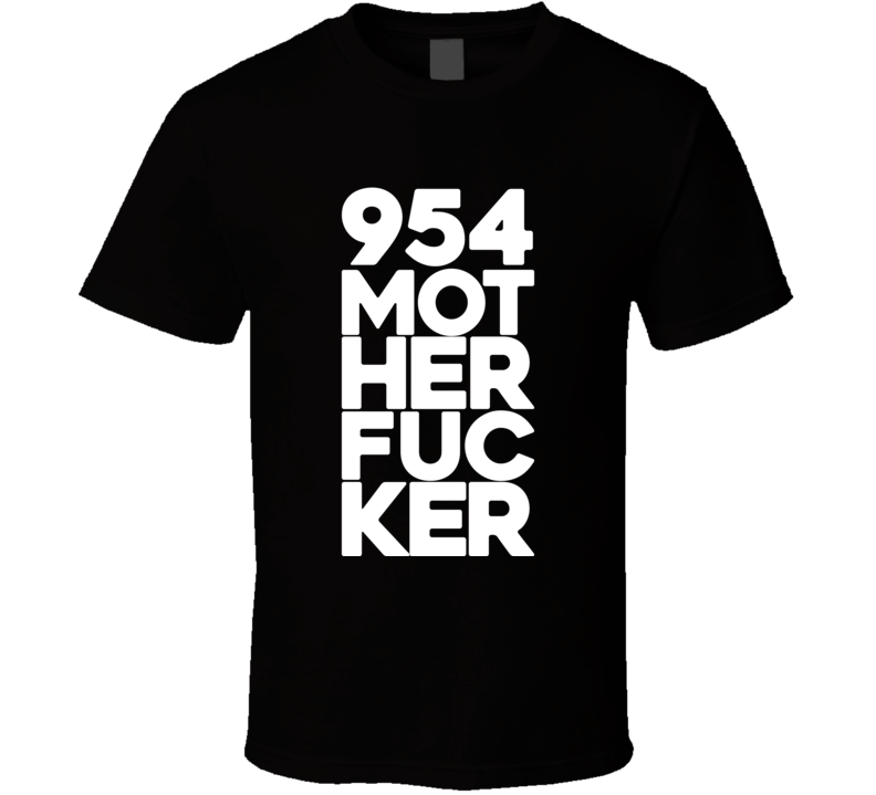 954 Mother Fucker Nate Nike Diaz Motherfucker MMA T Shirt