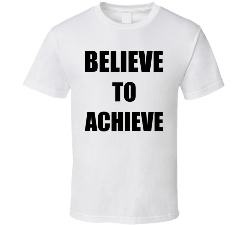 Hank Hill Believe To Achieve TV Cartoon T Shirt