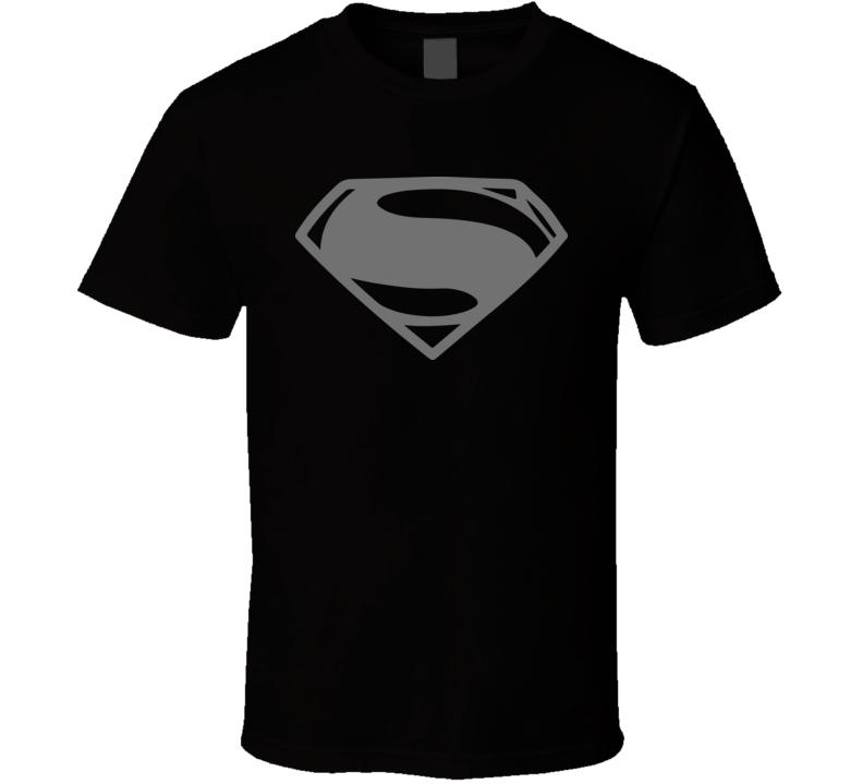 Superman Simple Shield Logo Superhero Comic Book T Shirt