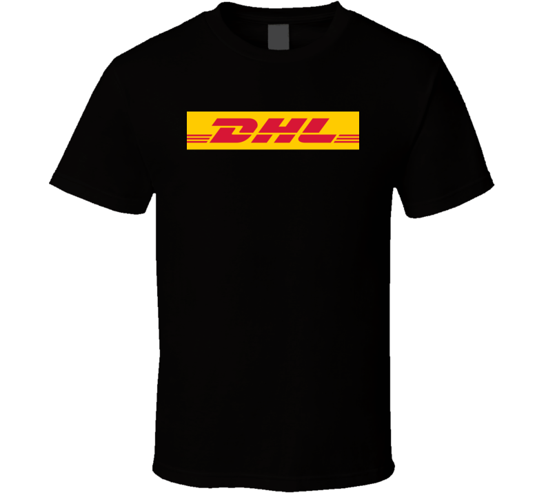 DHL Logo Black T Shirt