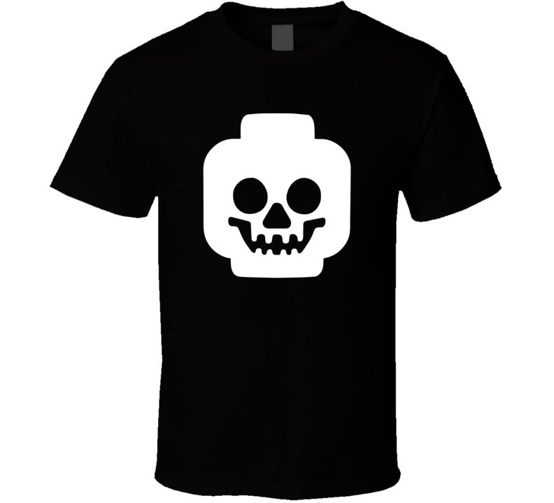 Lego Skull T Shirt