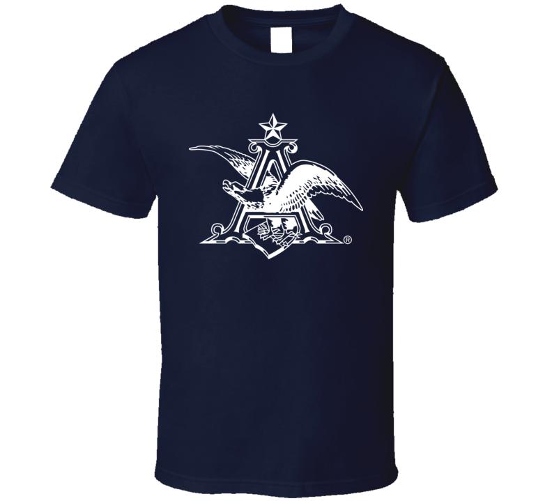 Anheuser Busch Beer Eagle Logo T Shirt
