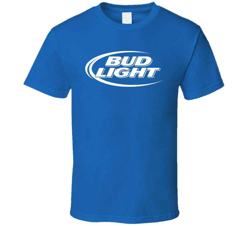 Bud Light Beer Logo T Shirt