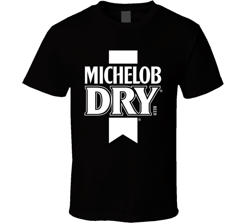 Michelob Dry Beer Logo T Shirt