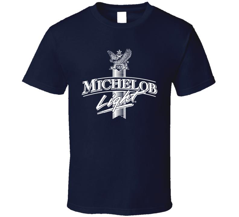 Michelob Light Beer Logo T shirt