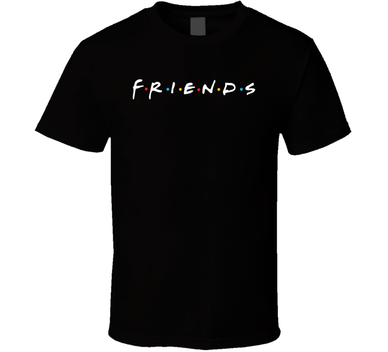 Friends TV Show Logo T Shirt