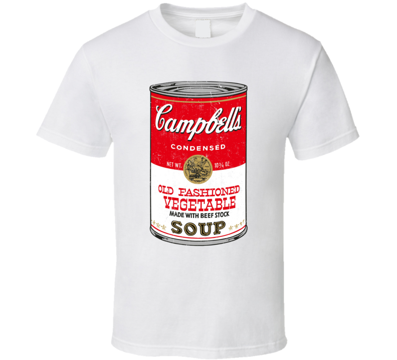 Campbell's Soup Worn Look T Shirt