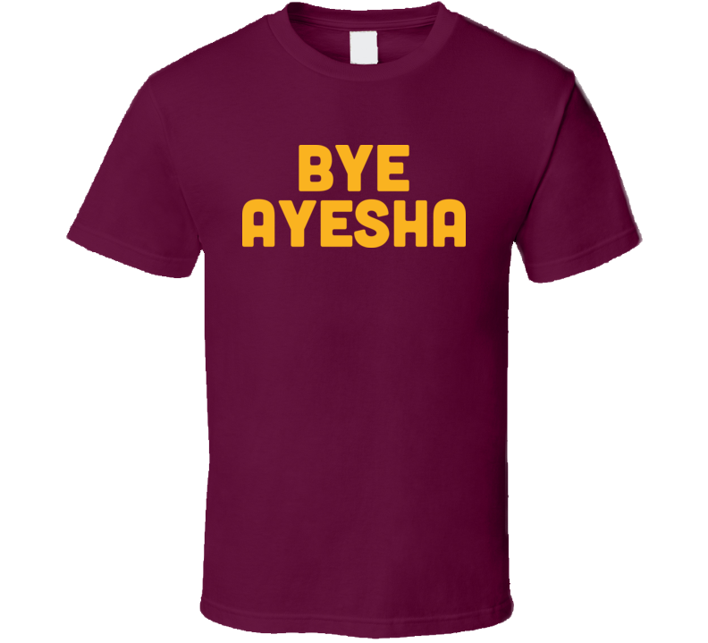 Bye Ayesha Curry NBA Finals Cleveland Cavs Golden State Warriors T Shirt