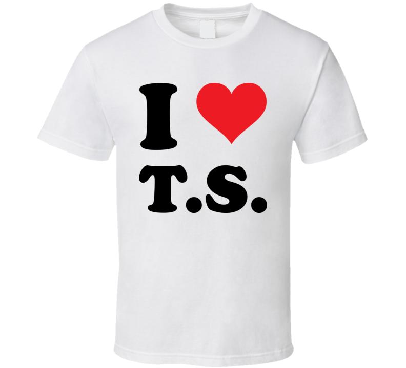 I Heart TS Taylor T Shirt