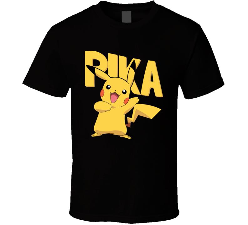 Pikachu Pokemon T Shirt