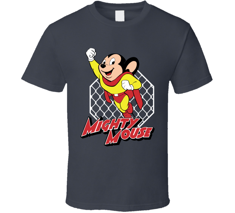 Team Mighty Mouse Demetrious DJ Johnson MMA Ultimate Fighting T Shirt