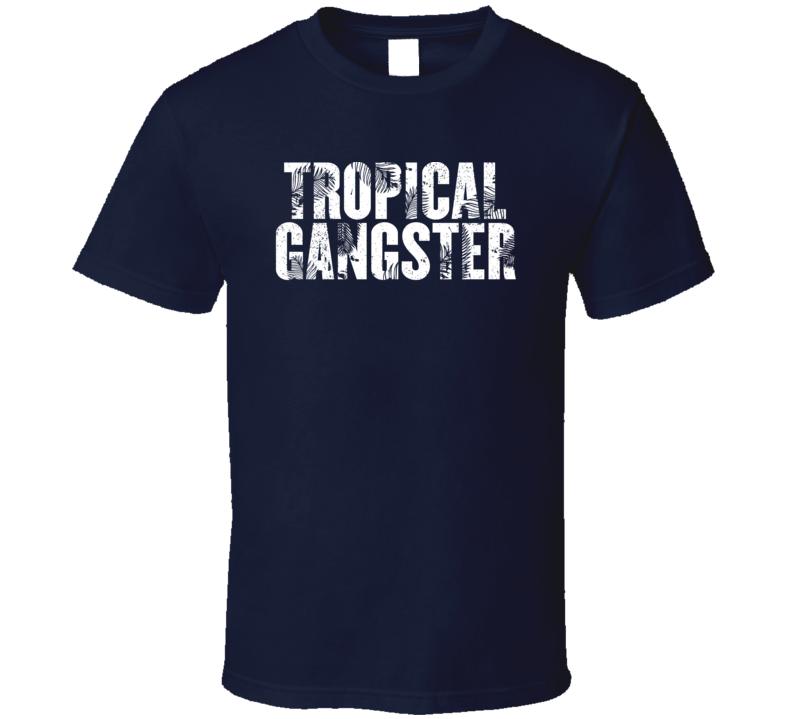Tropical Gangster Worn Look T Shirt