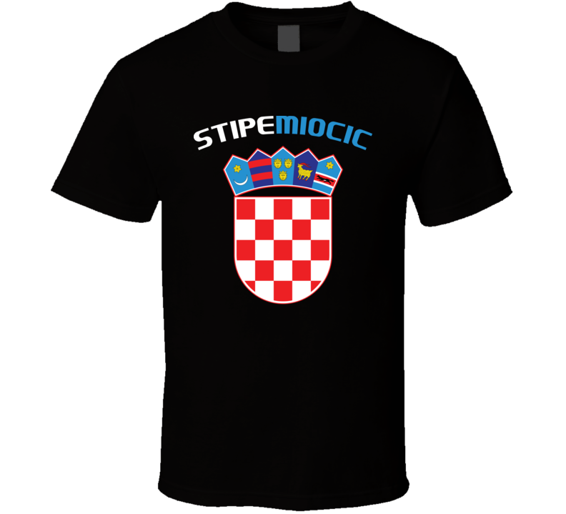 Stipe Miocic Croatia Flag T Shirt