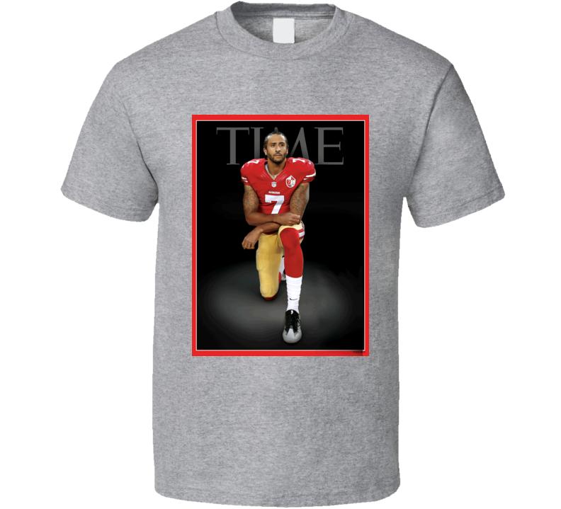 Colin Kaepernick Time Magazine Cover T Shirt