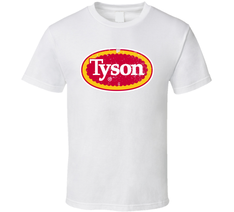 Tyson Worn Look Logo T Shirt