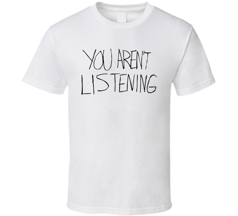 You Aren't Listening Malcolm Jenkins Philadelphia Philly Football T Shirt