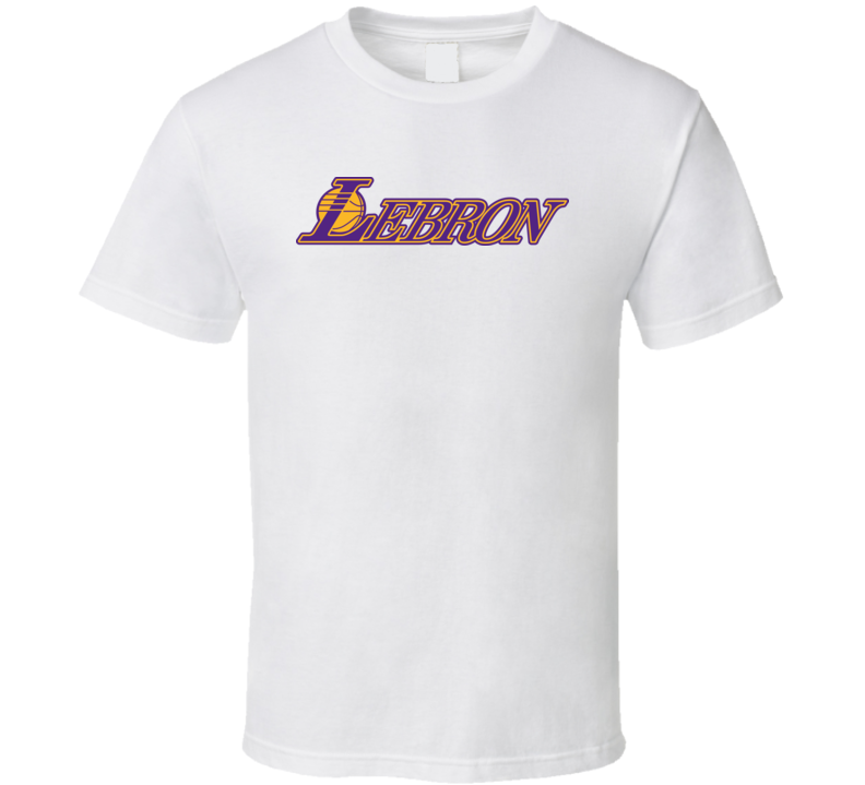 Lebron James Los Angeles Lakers Basketball Fan Essential Gift T Shirt