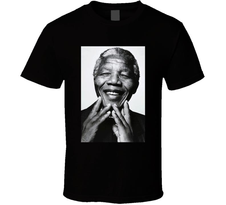 Nelson Madela South Africa Leader T Shirt