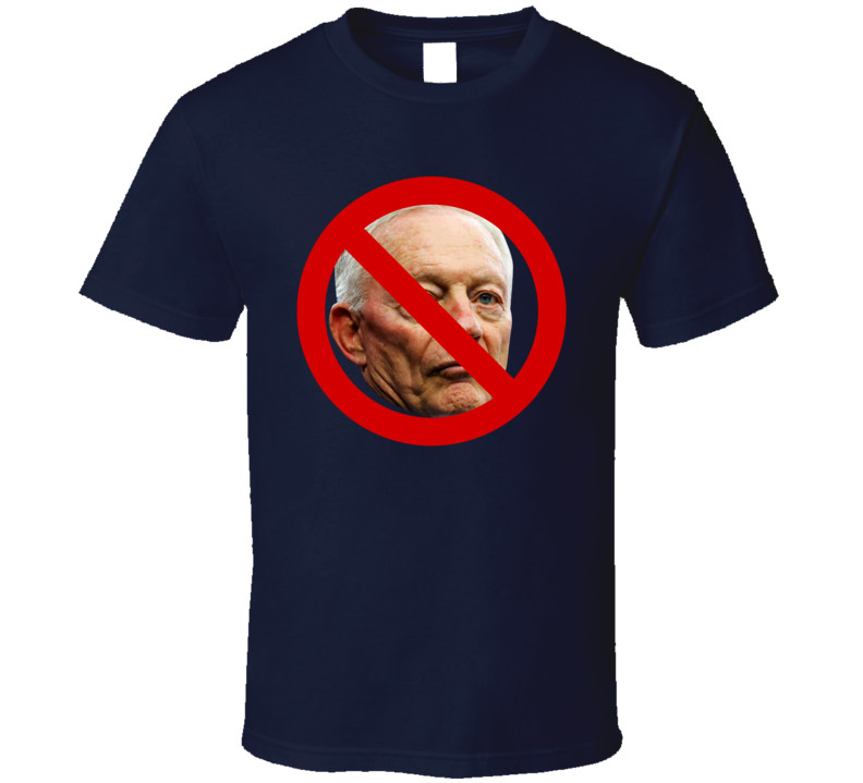 No Jerry Jones Dallas Football Ban T Shirt