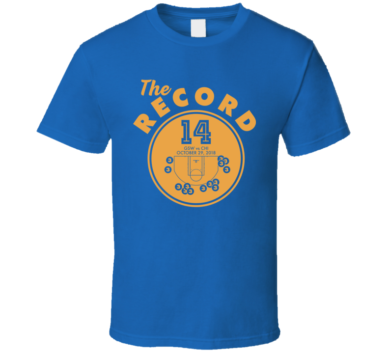 Golden State Basketball 3 Point Game Record Classic T Shirt