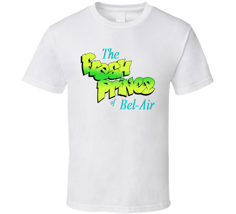 The Fresh Prince Of Bel Air Logo 90s Tv Sitcom Series Fan T Shirt