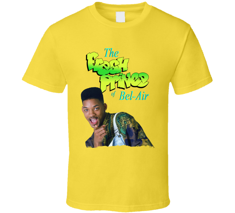 The Fresh Prince Of Bel Air Pointing 90s Tv Sitcom Series Fan T Shirt