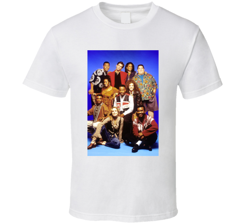 In Living Color Cast Tv Sketch Comedy Show Fan T Shirt