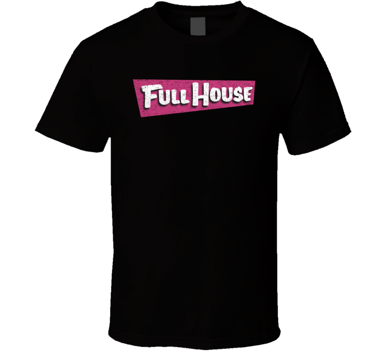 Full House TV Show Distressed T Shirt