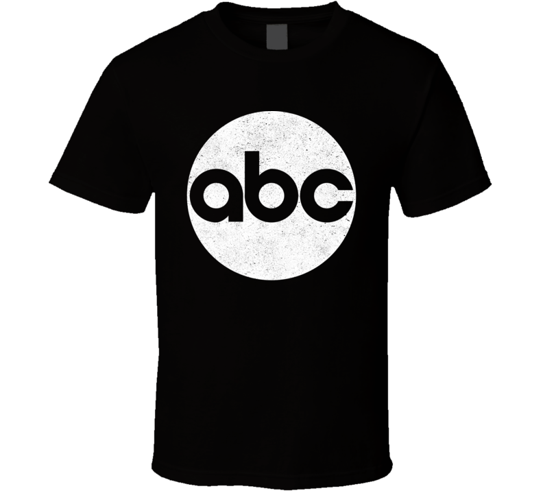 ABC Logo Distressed T Shirt