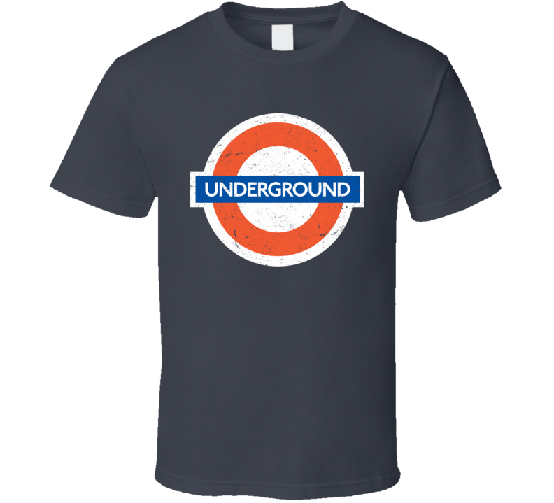London Underground Distressed T Shirt