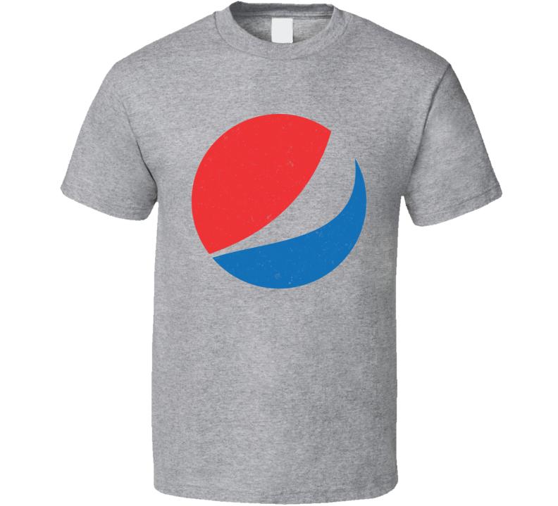 Pepsi Logo Distressed T Shirt