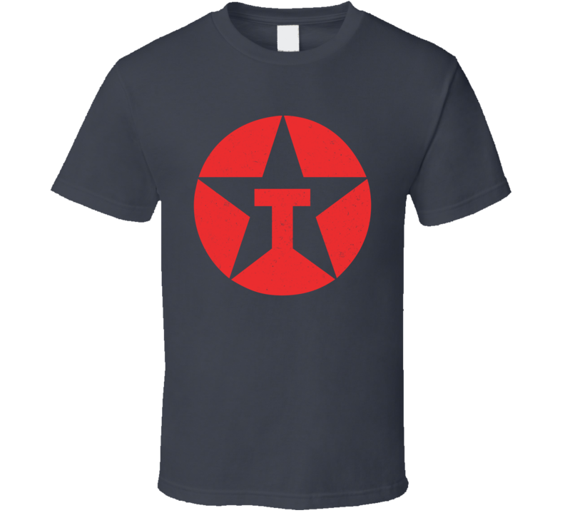 Texaco Logo Distressed T Shirt