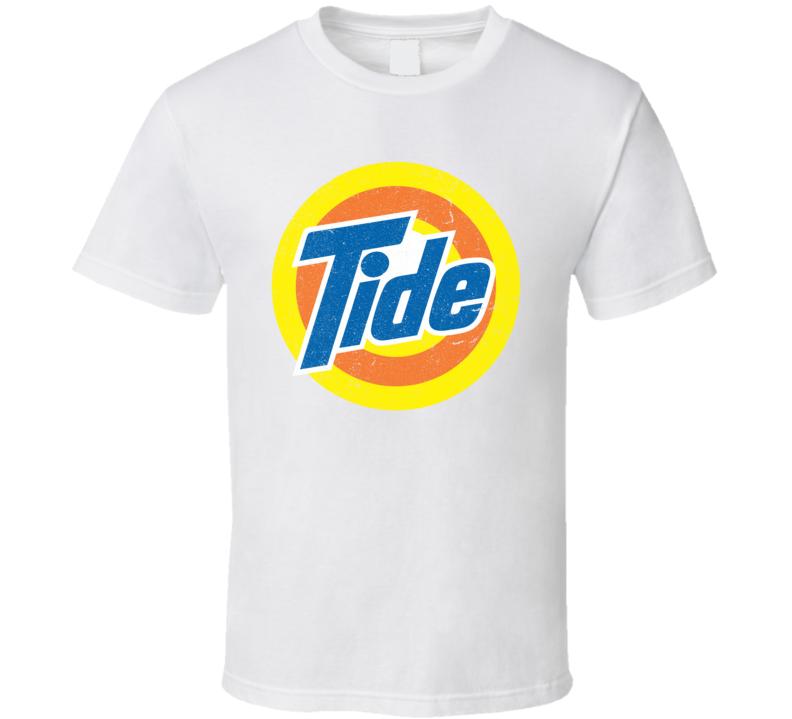 Tide Detergent Distressed Logo T Shirt