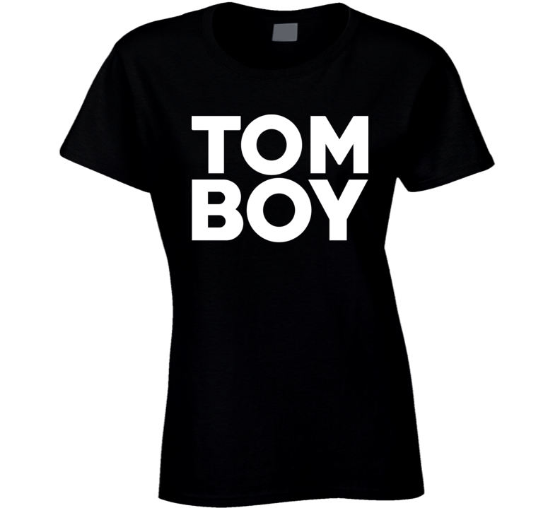 Tom Boy Black T Shirt