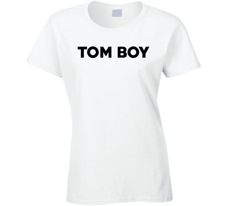 Tom Boy White T Shirt