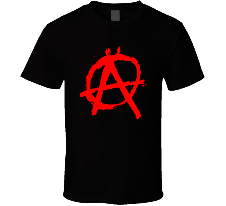 Anarchy Symbol T Shirt