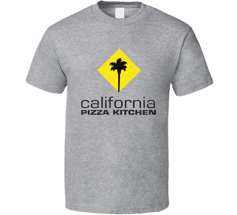California Pizza Kitchen Logo Worn Look T Shirt