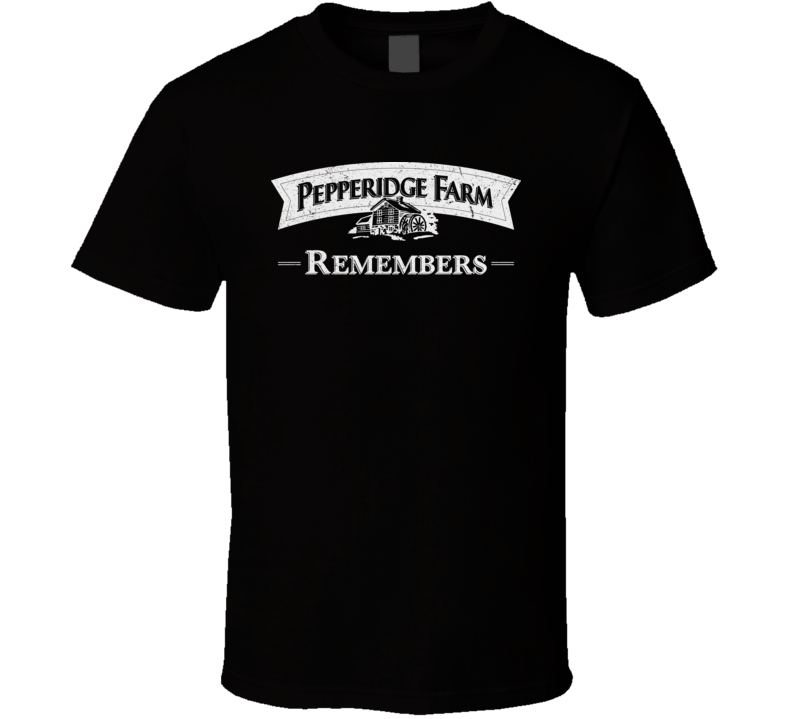 Pepperidge Farm Remembers Worn Look T Shirt