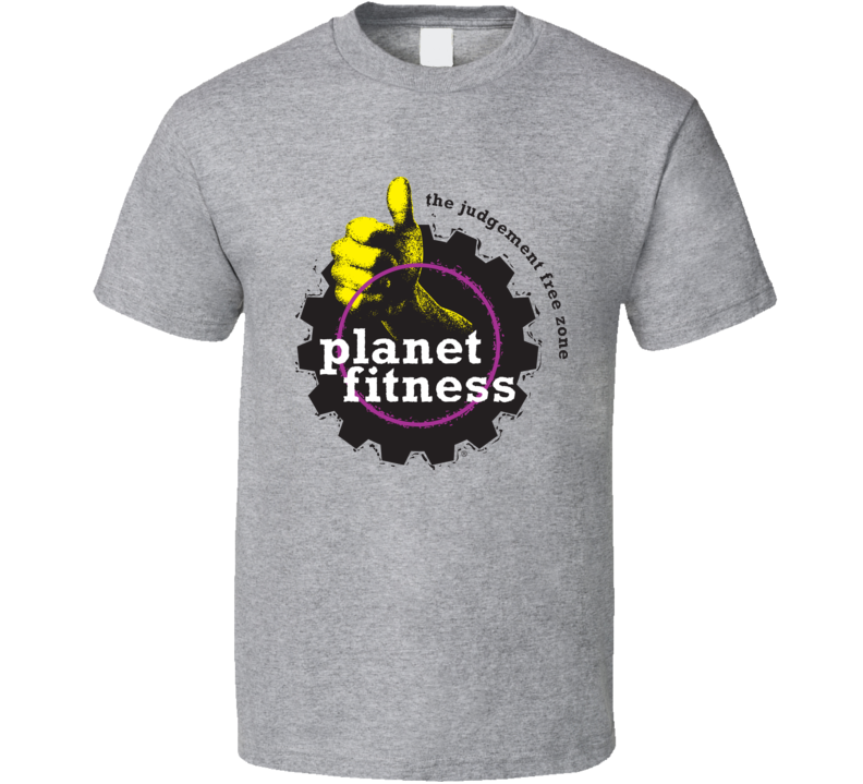 Planet Fitness Gym Logo T Shirt