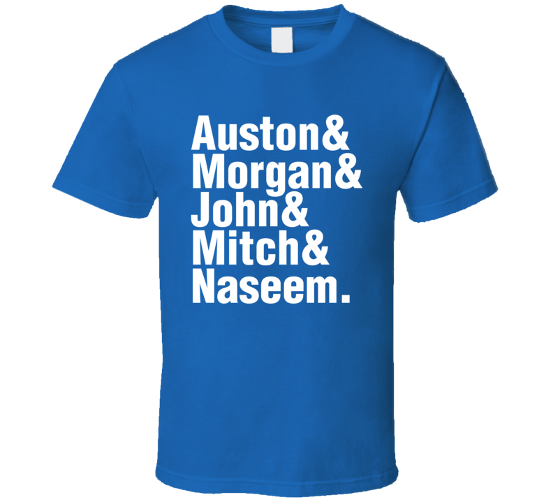 Auston Morgan Mitch John Naseem Toronto Hockey Fan T Shirt