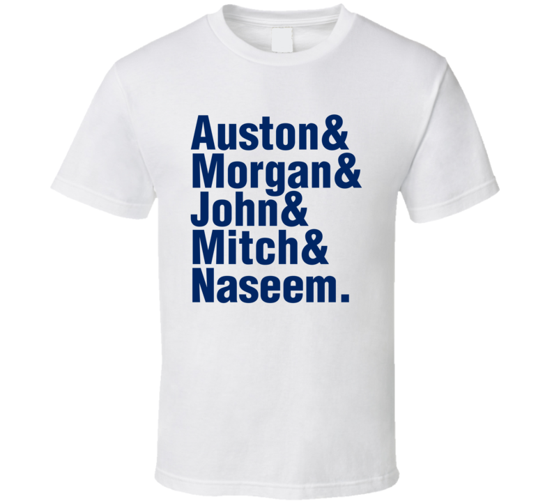 Auston Morgan Mitch John Naseem Toronto Hockey T Shirt