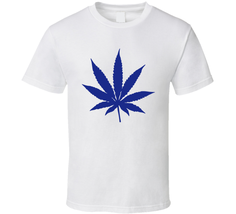 Toronto Hockey Pot Weed Leaf T Shirt