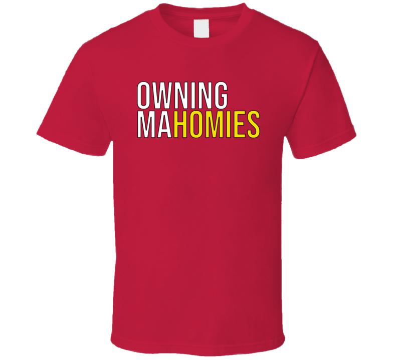 Owning Mahomies Football Fan T Shirt