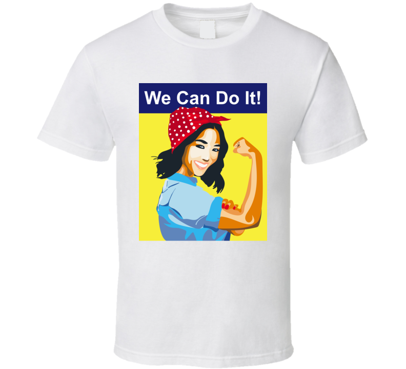 Constance Wu We Can Do It Feminist T Shirt