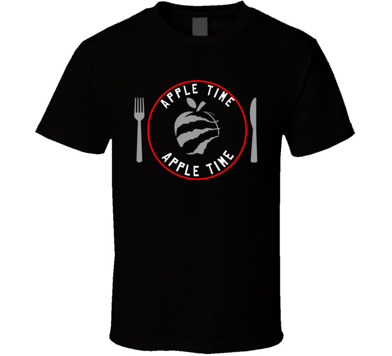 Kawhi Leonard Apple Time Toronto Basketball Fan T Shirt