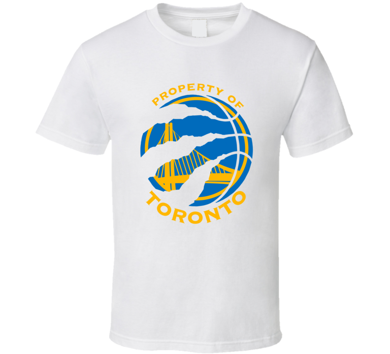 Property Of Toronto Golden State Basketball T Shirt