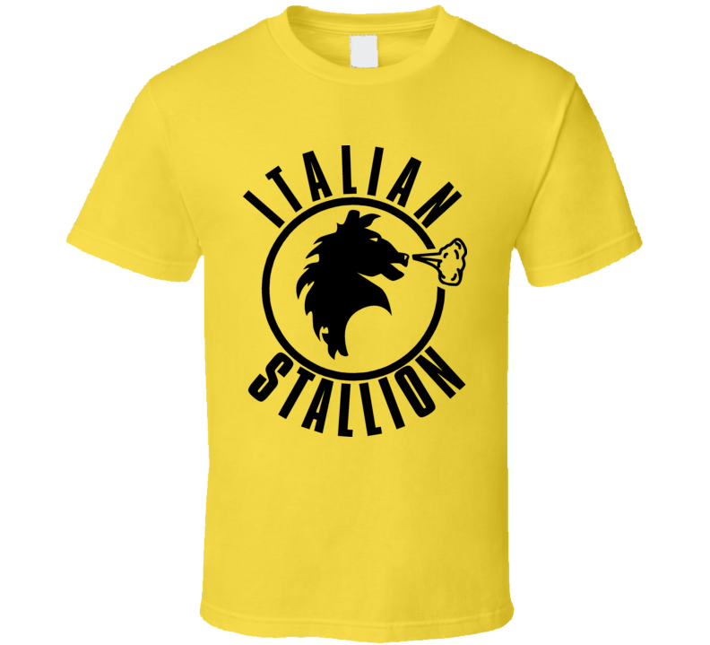 Italian Stallion Rocky Balboa T Shirt