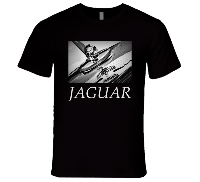 Jaguar T Shirt Hood Ornament Car Cars Gift Photo Photography